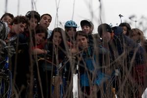 Los scouts realizan sus acciones solidarias