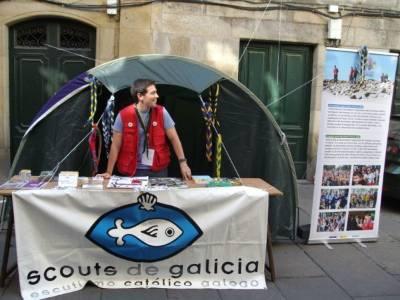 Scouts de Galicia, voluntarios en la PEJ