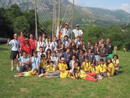 El Grupo Scout Vivak-Santa Lucía clausura el campamento de verano
