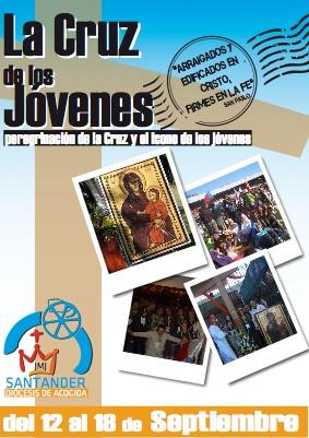La Peregrinación de la Cruz de los Jóvenes recorrerá Cantabria